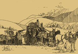 Stagecoach to Williams Lake